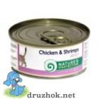 Natures Protection Chicken&Shrimps 100 г