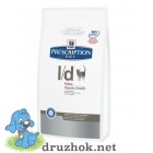 Hills (Хиллс) Prescription Diet Feline L/d корм для кошек, страдающих от заболеваний печени 1.5кг