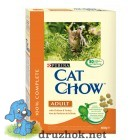 Cat Chow Adult with Chicken & Turkey - 400 г