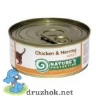 Natures Protection Chicken&Herrig г 100 г
