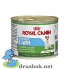 Royal Canin (Роял Канин) Adult Light консервированный корм для собак мелких пород, склонных к полноте 195г