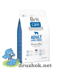 Brit Care Adult Large Breed Lamb & Rice 3 kg (д/собак весом от 25 кг)